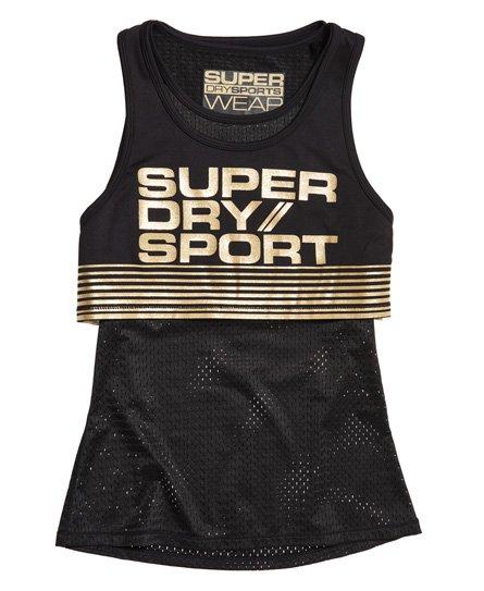 Superdry Bolt Sport Vest Top