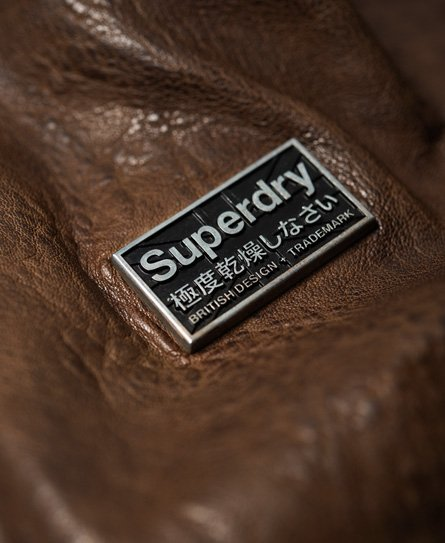 Superdry Rookie Leather Jacket