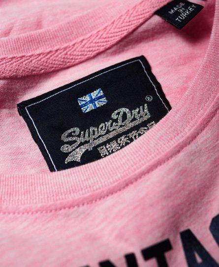 Superdry T-shirt con lustrini Premium Goods