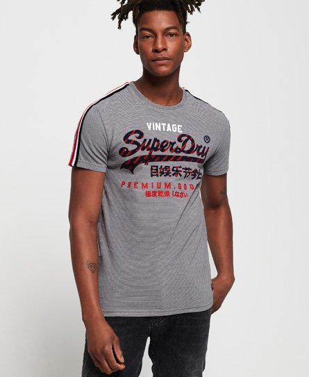 Superdry Premium Goods Racer Stripe T-Shirt