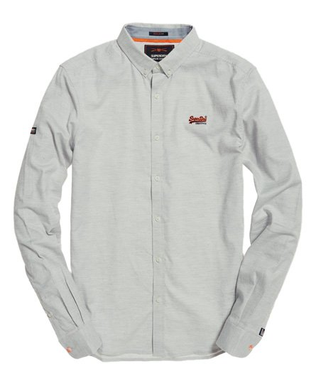 Superdry Premium Button Down Embroidered Shirt
