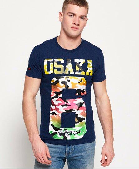 Superdry T-shirt léger entièrement imprimé Osaka