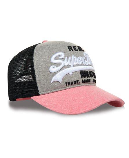 54bdcc39 Superdry Premium Goods CB Trucker Cap - Women's Hats