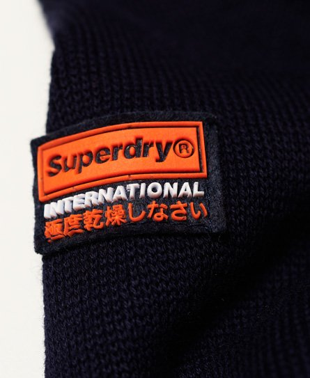 Superdry Pull tricolore Henley