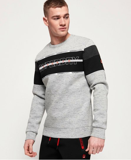 Superdry Sudadera de cuello redondo Gym Tech Cut