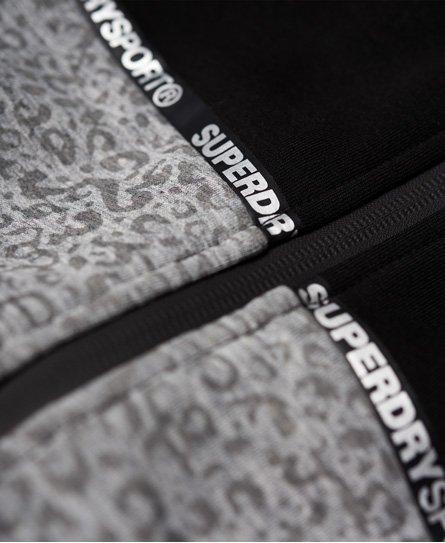 Superdry Core Gym Tech Splice Zip Hoodie