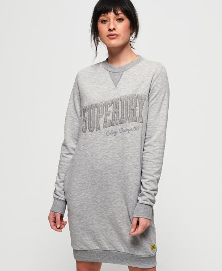 Superdry Robe sweat ton sur ton