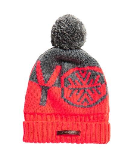 Superdry Bonnet logo Snow