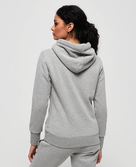 Superdry Zipper Damen ORANGE LABEL ELITE Elite Grey Marl