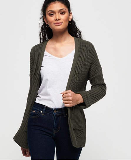 Superdry Cardigan long Katie