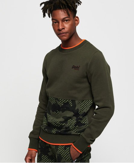 Superdry Orange Label Urban Crew Sweatshirt