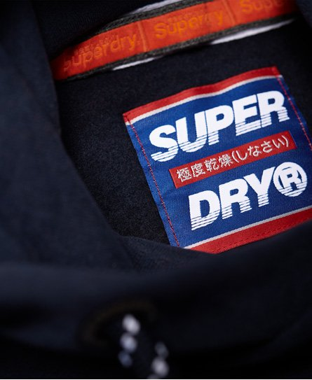 Superdry Nu Lad Hoodie in Übergröße mit Applikation
