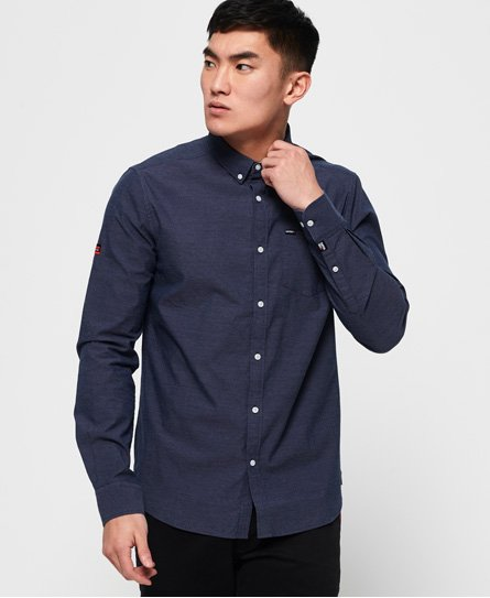 Superdry Premium University Oxford-skjorte