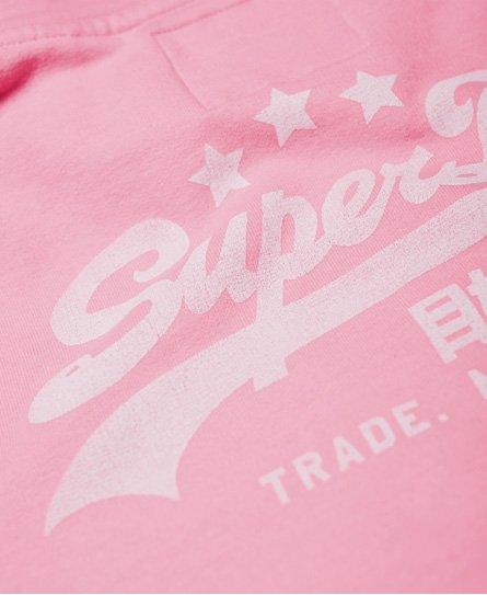 Superdry Felpa con cappuccio con logo vintage Heritage