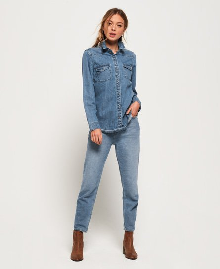 Superdry Western jeansoverhemd