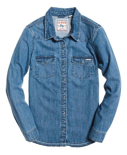 Superdry Western Denim-skjorte