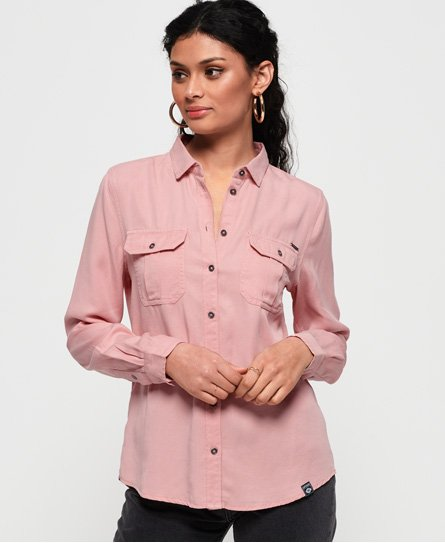 Superdry Camicia Xenia Acid Wash