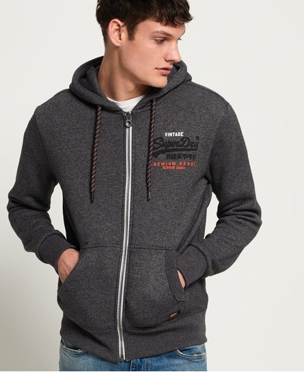 Superdry Sweat à capuche zippé Premium Goods Racer