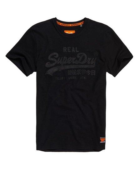 Superdry T-shirt con applicazioni e taglio ampio Vintage Logo
