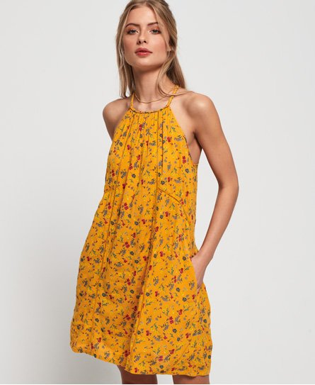 Superdry Riley Lace Halter Dress