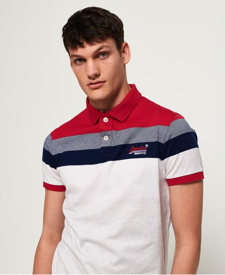 Superdry Miami Feeder Polo Shirt