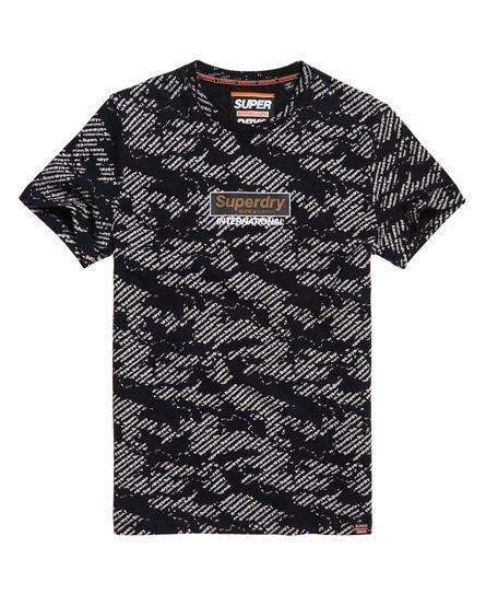 Superdry International Monochrome T-skjorte
