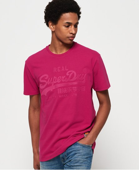 Superdry Kastenförmiges Vintage Logo T-Shirt mit Applikation