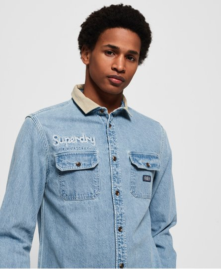 Superdry Camisa de manga larga Worker