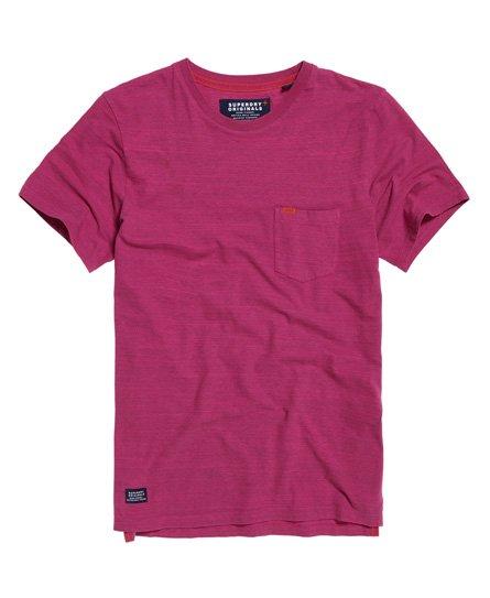 Superdry Dry Originals T-shirt met korte mouwen en zak