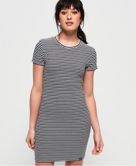 Superdry Evie T-Shirt-Kleid mit Struktur thumbnail 1