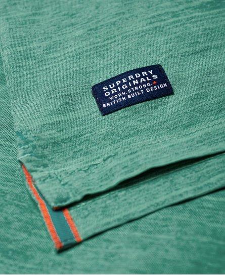 92163714910b4f Superdry Dry Originals T-Shirt mit kurzen Ärmeln und Tasche - Herren ...