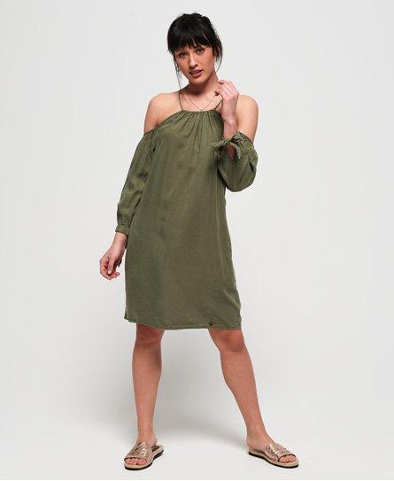 041e17c3 Superdry Eden Cold Shoulder-kjole - Dame Kjoler