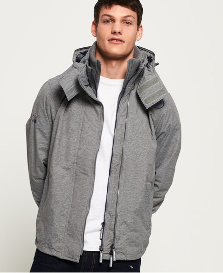 Superdry Technical Pop Zip SD-Windcheater-jakke med hette
