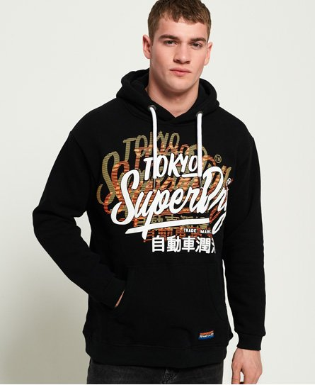 Superdry Sweat à capuche oversize Ticket Type