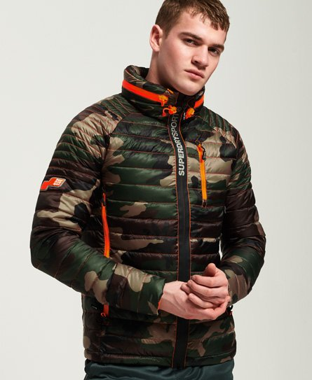 Superdry Power Pop Camo Jacket
