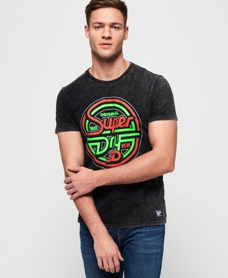 Superdry T-shirt avec graphique Acid