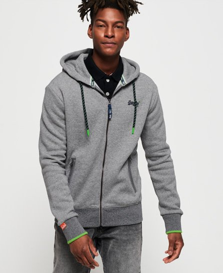 Superdry Orange Label Hyper Pop hoodie met rits