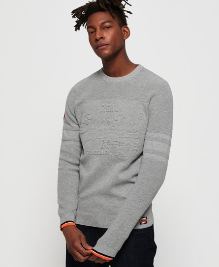 Superdry Nu Embossed Logo Crew Jumper