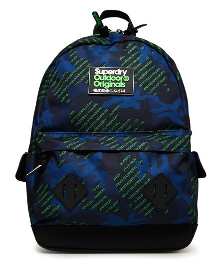 Superdry Logo All Over Print Montana Rucksack