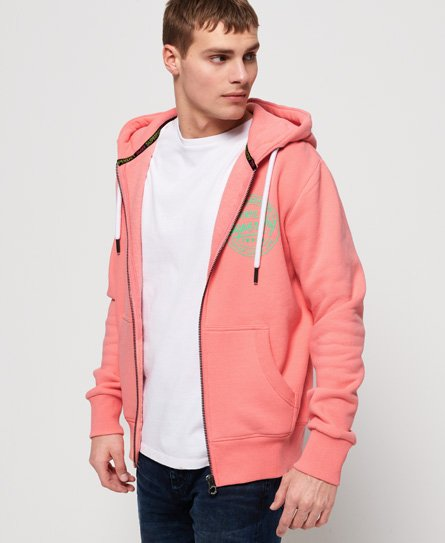 Superdry Gilet à capuche zippé Ticket Type