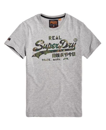 Superdry Vintage Logo Layered Camo-T-skjorte