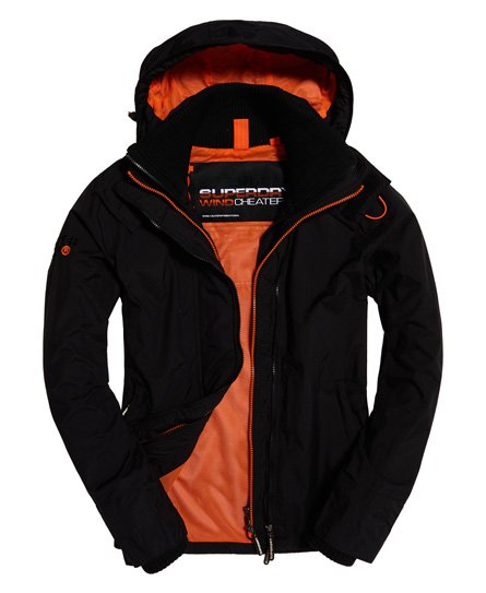 Superdry Technical Pop Zip SD-Windcheater med hette
