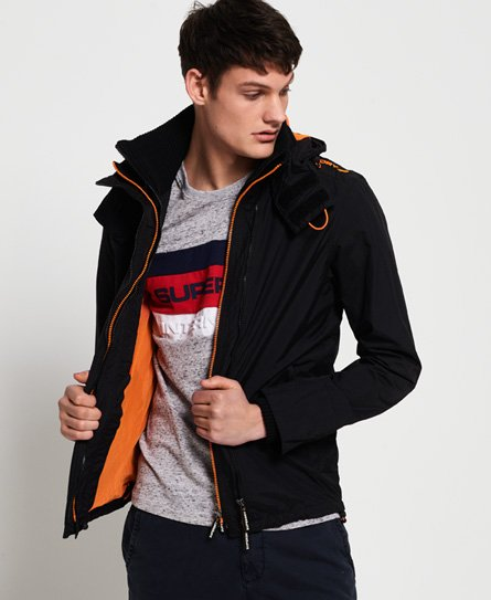 Superdry Technical Pop SD-Windcheater jas met capuchon en rits