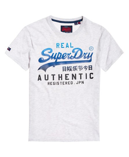 Superdry Falmet Authentic T-shirt med vintagelogo