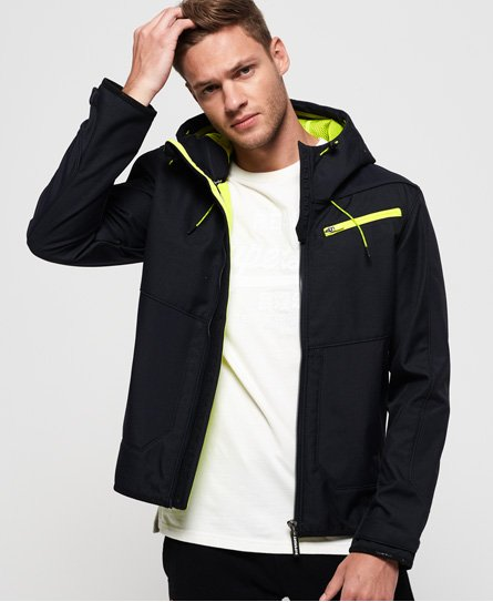 Hybrid Hooded SD-Windtrekker Jacket