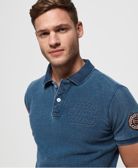 Superdry Classic Superstate piqué poloshirt