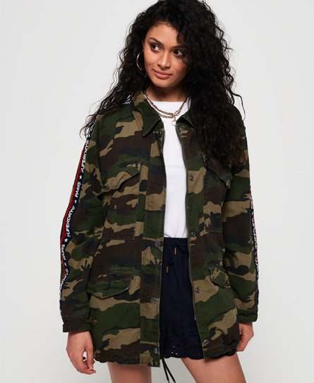 Superdry Lilith Oversized Rookie Shacket-jakke