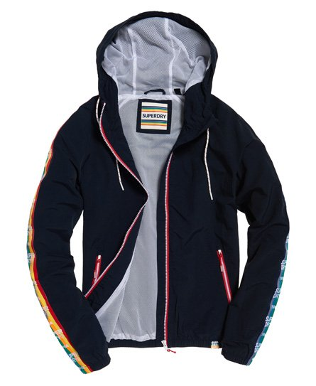 d585226c9 Womens - Rainbow SD-Windbreaker Jacket in Navy | Superdry