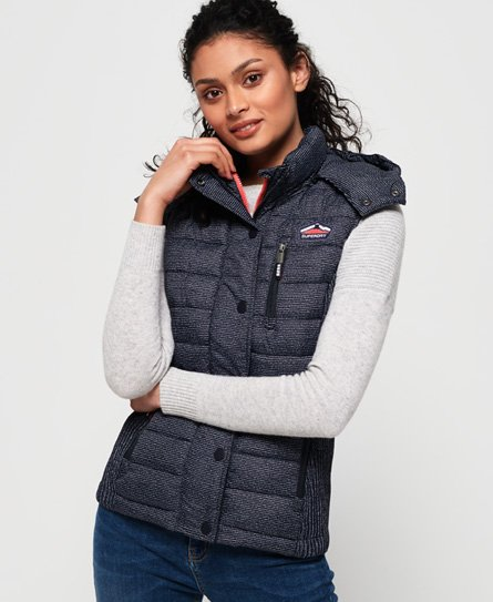 Superdry Fuji Slim Double Zip Vest