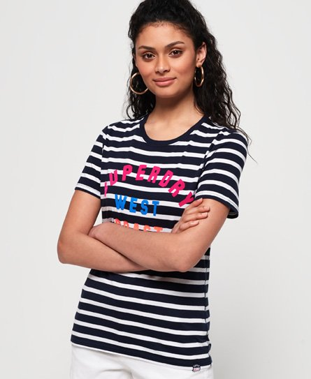 Superdry West Coast Stripe T-Shirt